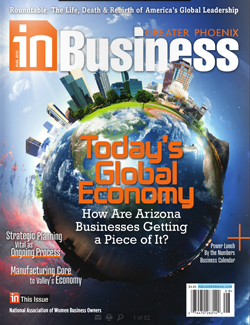 August Issue Cover - inBusiness Magazine
