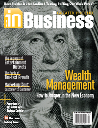 In Business Magazine Cover - December 2012