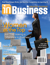 February 2013 In Business Cover