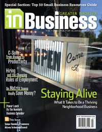 June 2014 In Business Magazine Cover