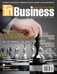 July 2014 In Business Magazine Cover