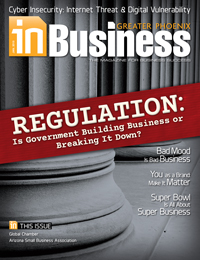 January 2014 In Business Magazine Cover