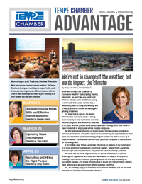 Tempe Chamber of Commerce March 2015
