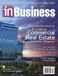 May 2015 In Business Magazine Cover