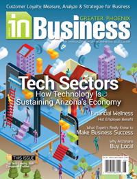 June 2015 In Business Magazine Cover