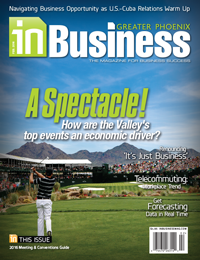 January 2015 In Business Magazine Cover