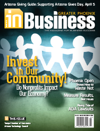 March 2015 In Business Magazine Cover