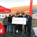 Bashas presenting a $200,000 check as a Donation to Feeding America - Arizona