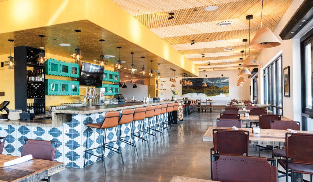 Ghost Ranch - Bar Interior