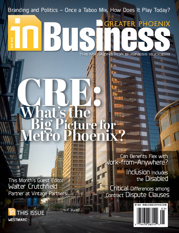 In Business Magazine May 2021 Cover