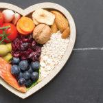 Heart bowl of fruit