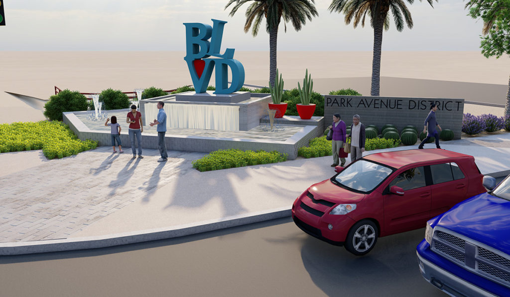 Rendering of The BLVD