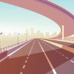 West Valley Freeway Illustration