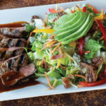 Urban Steak Salad at the Herb Box